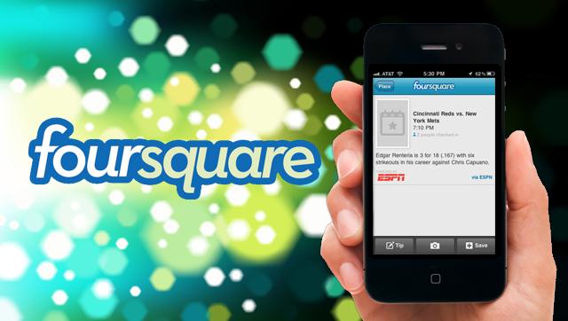بوم مدل کسب و کار Foursquare
