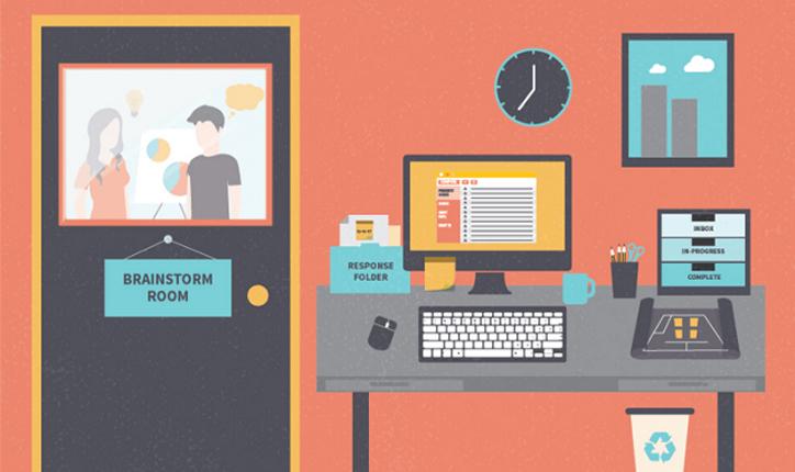 چگونه دفتر کارتان را برای داشتن حداکثر بازدهی سازماندهی کنید؟