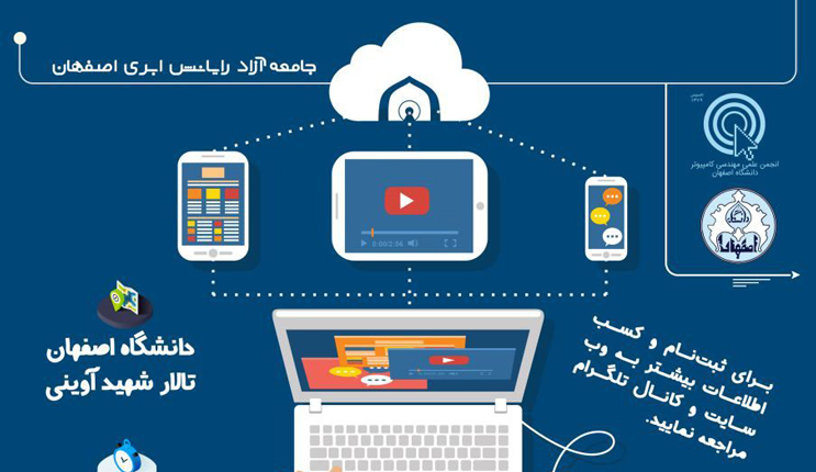 بزرگداشت یک سالگی جامعه آزاد رایانش ابری اصفهان
