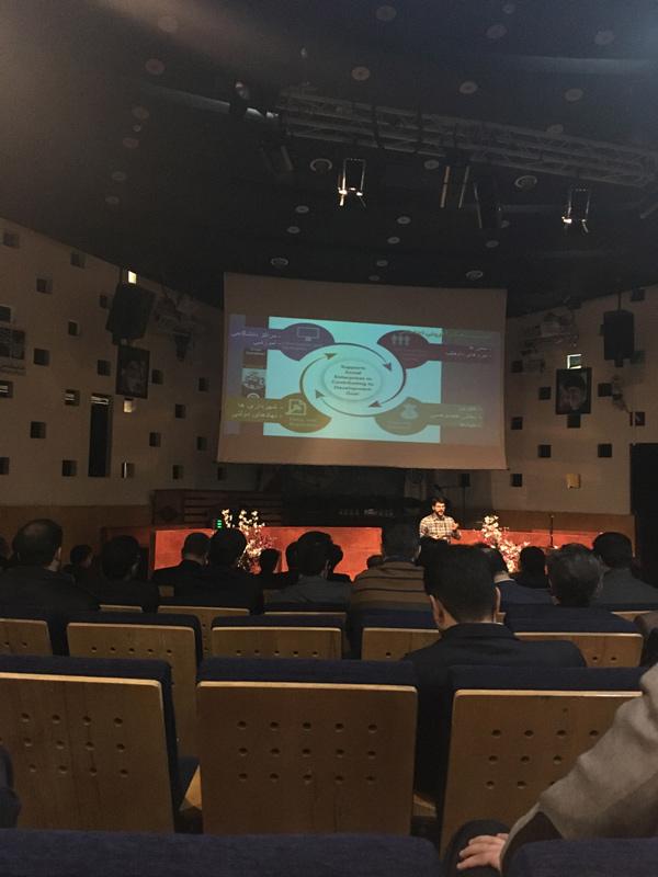 شوان صدرقاضی در سمپوزیوم بررسی عملیاتی اکوسیستم کارآفرینی بین المللی در اصفهان